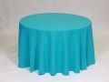 Where to rent LINEN, 90 x132  BANQUET TURQUOISE in Framingham / Hudson MA