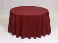 Where to rent LINEN, 90  ROUND BURGUNDY in Framingham / Hudson MA
