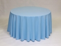 Where to rent LINEN, 90  ROUND LIGHT BLUE in Framingham / Hudson MA