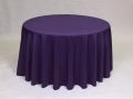 Where to rent LINEN, 90  ROUND PURPLE in Framingham / Hudson MA