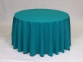 Where to rent LINEN, 90  ROUND TEAL in Framingham / Hudson MA