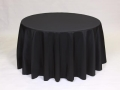 Where to rent LINEN, 108  ROUND BLACK in Framingham / Hudson MA