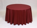 Where to rent LINEN, 108  ROUND BURGUNDY in Framingham / Hudson MA