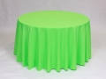 Where to rent LINEN, 108  ROUND NEON GREEN in Framingham / Hudson MA