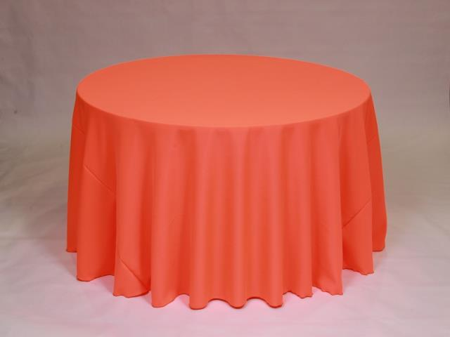 Where to find LINEN, 108  ROUND NEON ORANGE in Framingham / Hudson