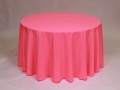 Where to rent LINEN, 108  ROUND NEON PINK in Framingham / Hudson MA