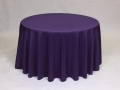 Where to rent LINEN, 108  ROUND PURPLE in Framingham / Hudson MA