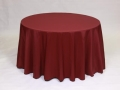 Where to rent LINEN, 120  ROUND BURGUNDY in Framingham / Hudson MA