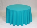 Where to rent LINEN, 120  ROUND TURQUOISE in Framingham / Hudson MA