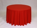 Where to rent LINEN, 120  ROUND HOLIDAY RED in Framingham / Hudson MA
