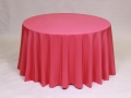 Where to rent LINEN, 120  ROUND HOT PINK in Framingham / Hudson MA
